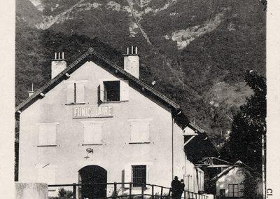 Le funiculaire de Saint Hilaire du Touvet